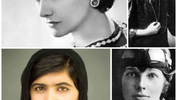 Mujeres históricas, mujeres lideres, malala, carrie fisher, coco chanel